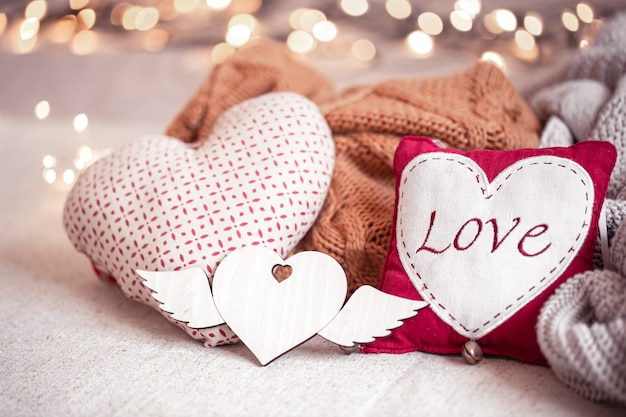 Beautiful things for romantic decoration