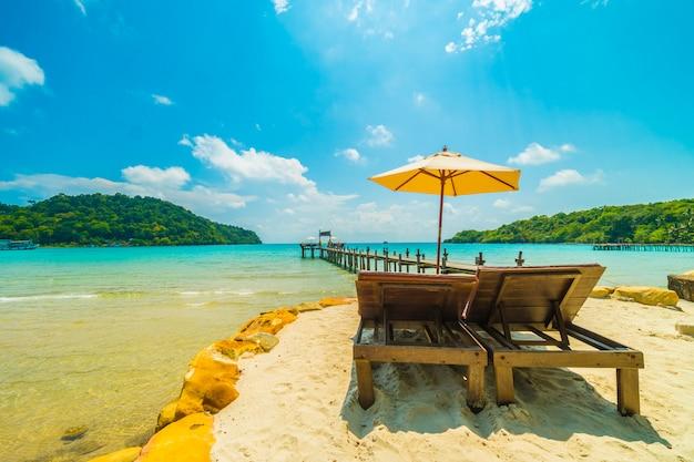 Beautiful tropical beach and sea