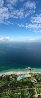 Красивый тропический остров занзибар, танзания