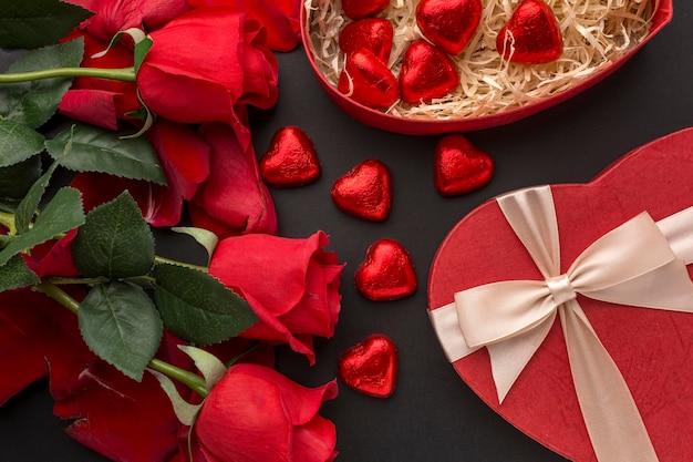 美しいバレンタインデーのコンセプト