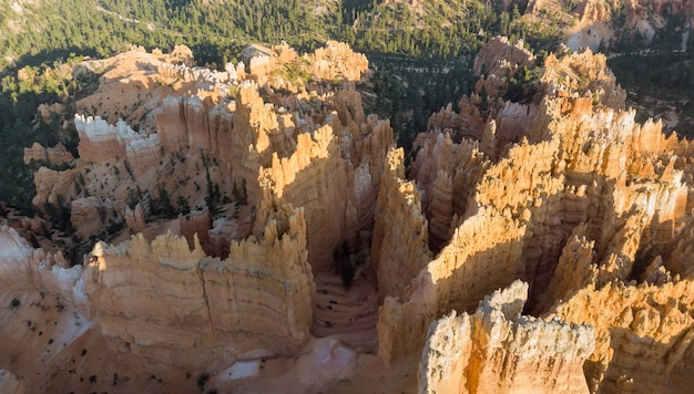 Beautiful view in bryce canyon national park is a located in southwestern utah in the united states