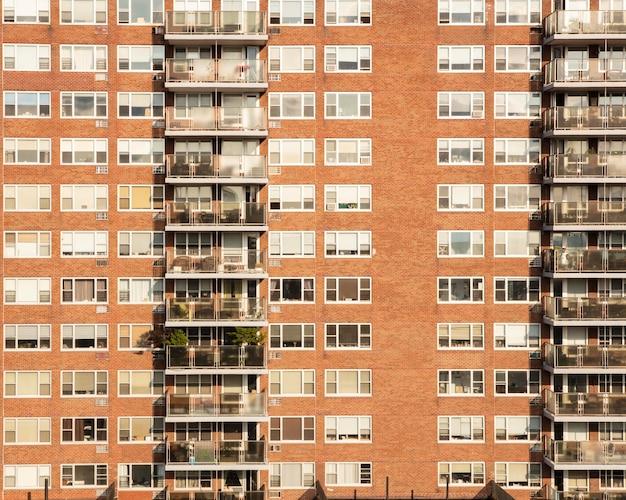 Bella vista sugli edifici della città