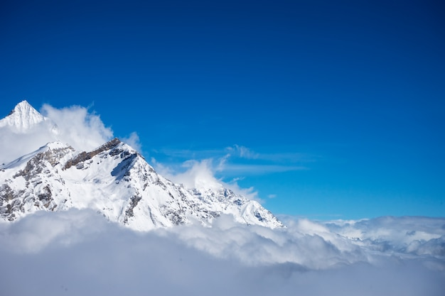 Beautiful view of matterhorn peak Premium Photo