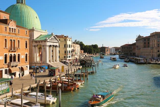 Прекрасный вид на венецию, италия