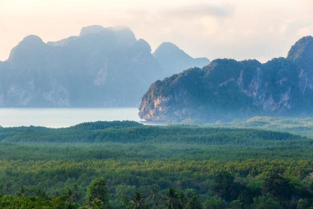 Beautiful view point at samet nang she