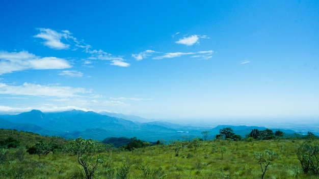 Beautiful view point of tamil nadu mountain