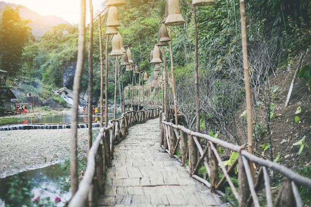 Beautiful view sapa valley vietnam