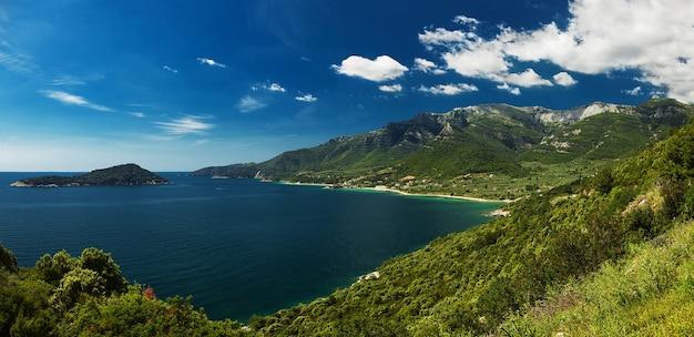 Beautiful view at thassos island, greece