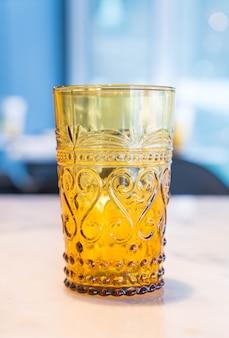 Beautiful vintage crystal glass