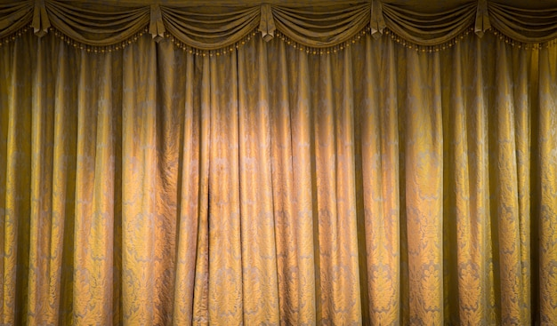 Beautiful vintage curtain background