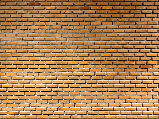 美しい壁。茶色のレンガの壁またはモダンな部屋のテクスチャ。