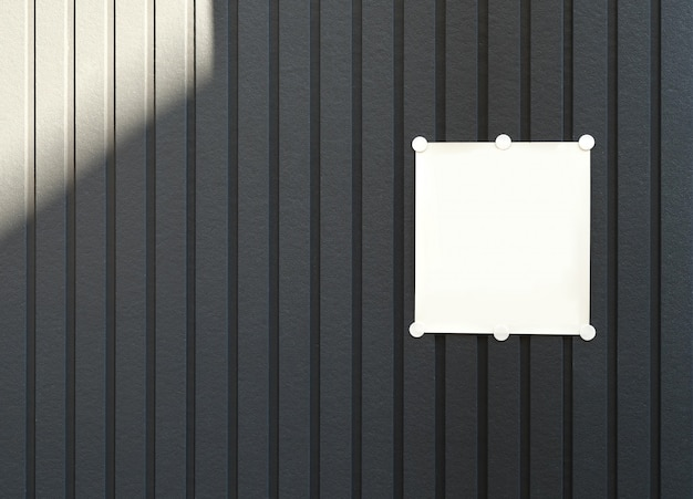 Beautiful wall texture with white blank square