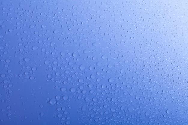 青のグラデーション背景に美しい水露が値下がりしました