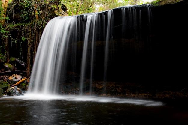 Beautiful waterfall landscape.
