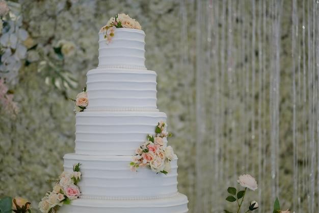 아름다운 웨딩 케이크