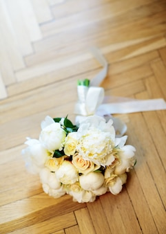 Beautiful wedding flowers bouquet