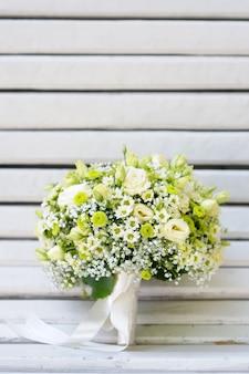 Beautiful wedding flowers bouquet
