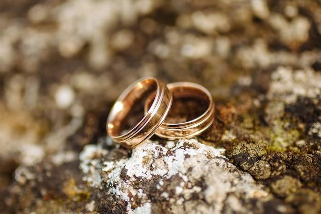 아름다운 결혼 반지