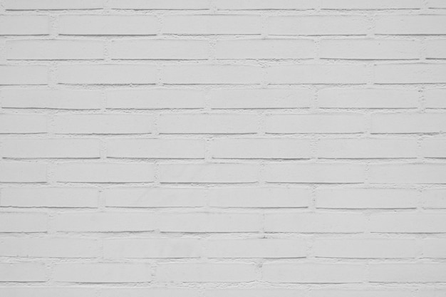 Beautiful white brick wall background