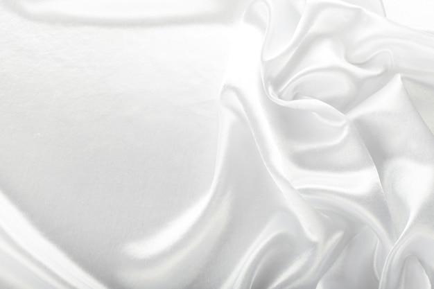 美しい白い布のテクスチャ背景
