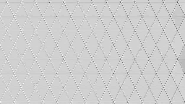 Красивый белый низкополигональный морфинг поверхности