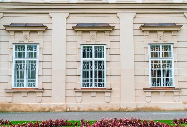 Beautiful window on wall mirabell garden