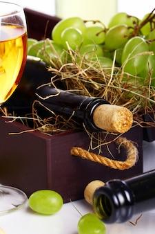 Beautiful wine composition