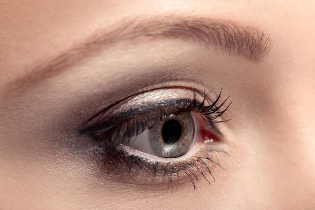 Глаз красивой женщины
