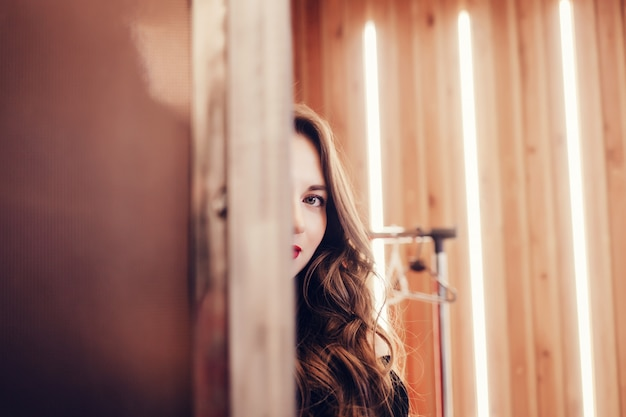 Beautiful woman model