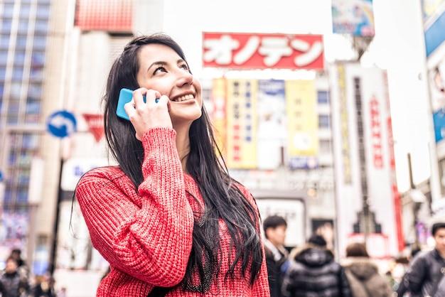 Beautiful woman in tokyo