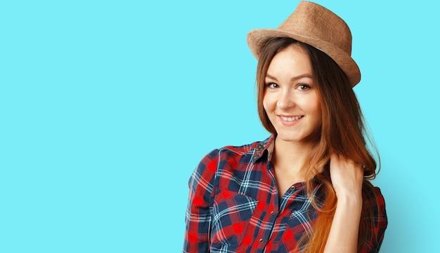Красивая женщина с улыбкой