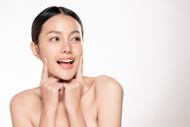 b4efd09d68b Beautiful young asian woman with clean fresh skin
