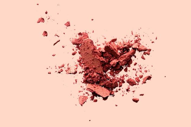Минеральные органические тени для век с плоским дизайном для красоты и макияжа в виде пудровых косметических румян или измельченного косм ...