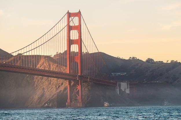 Beauty of golden gate bridge