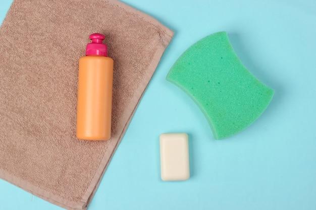 青の美容、ヘルスケア、化粧品、衛生製品。