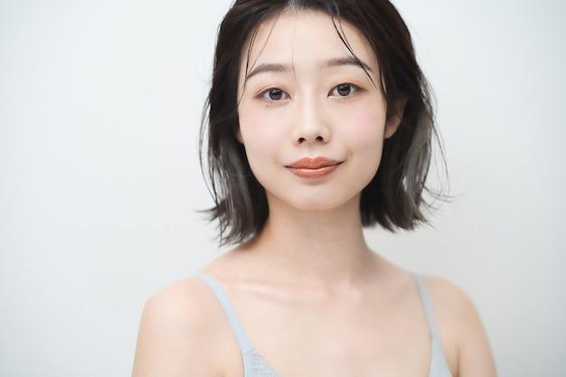 Изображение красоты японской молодой женщины
