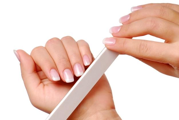 爪の美しさ