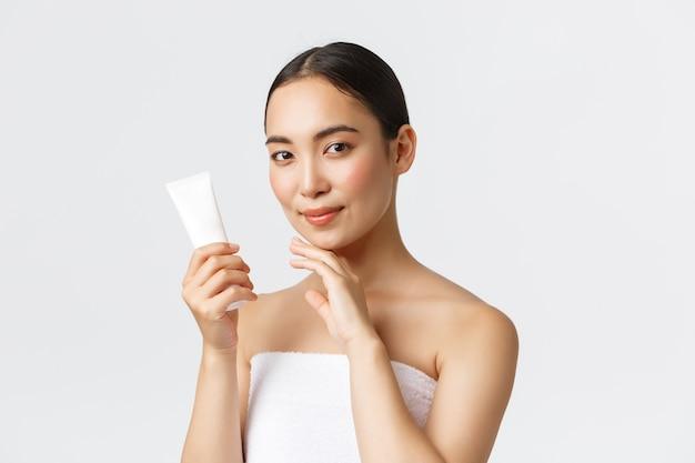 Beauty, personal care, spa salon and skincare concept.