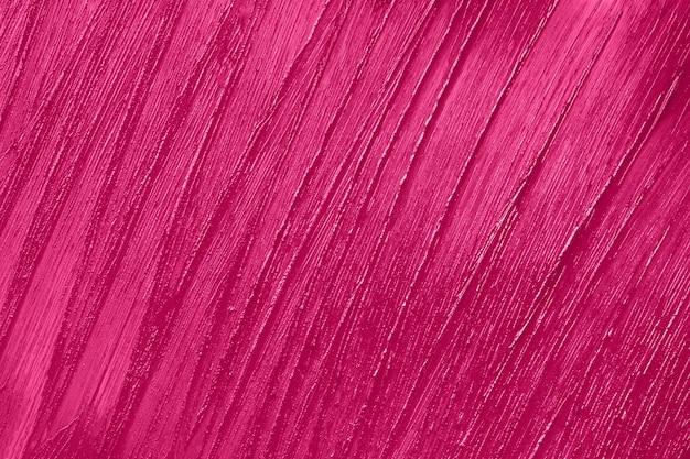 Beauty product sample closeup purple cosmetics smear pattern liquid lipstick cosmetic pink swatch