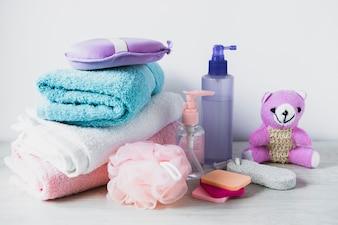 美容製品の静物