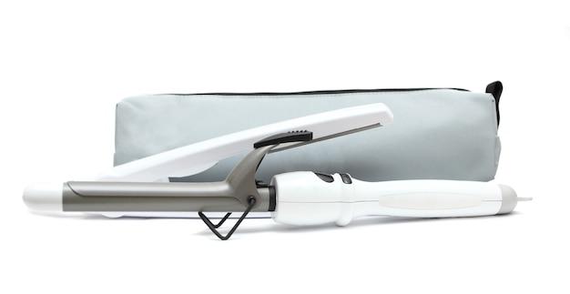 Оборудование салона красоты, изолированные на белом фоне