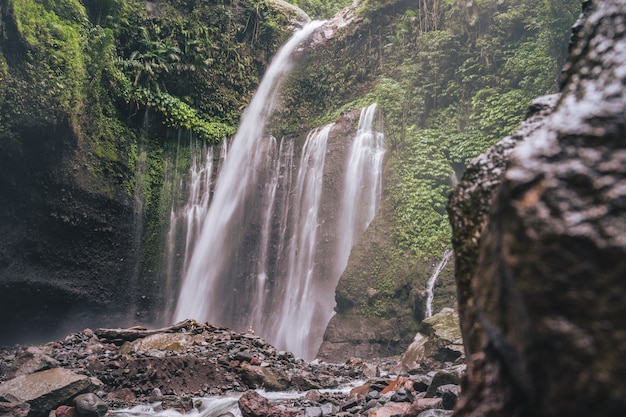 The beauty of tiu kelep waterfalls