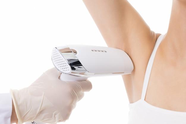 Косметические процедуры с использованием лазерной технологии