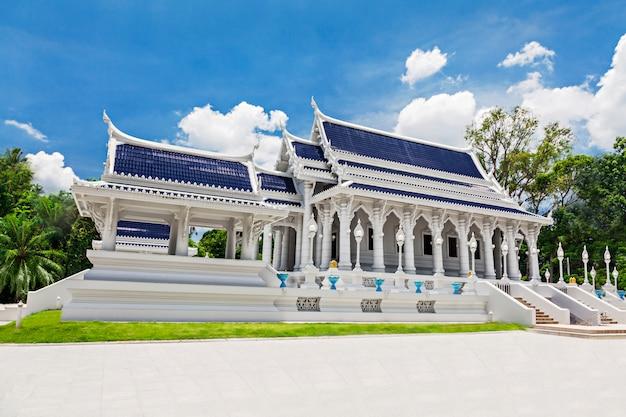 Beauty white temple