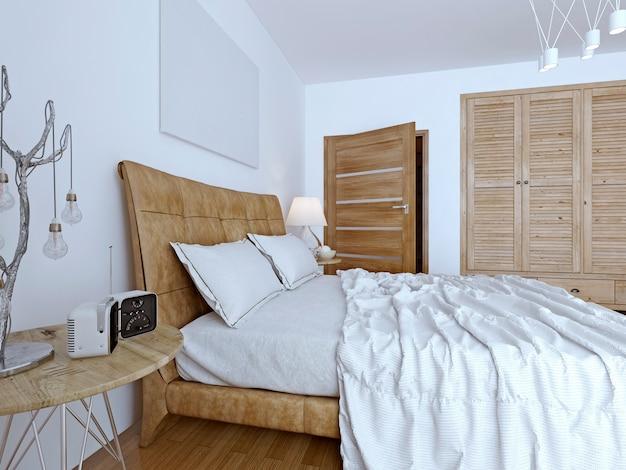 Bedchamber contemporary design.