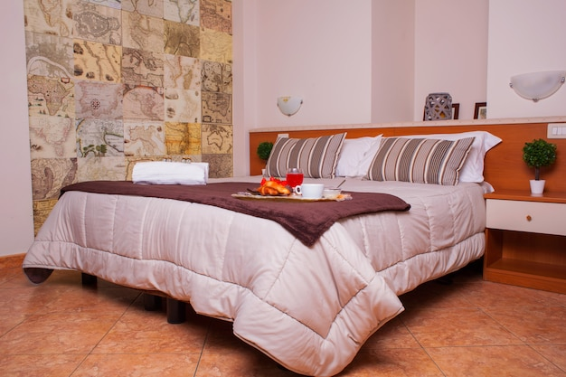 Bedroom of ares hotel