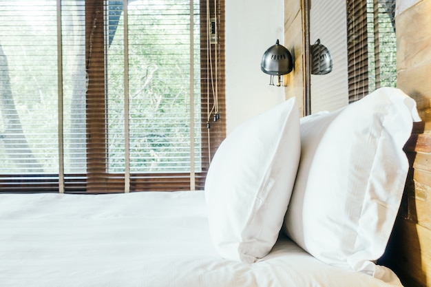 Bedroom background luxury hotel nobody