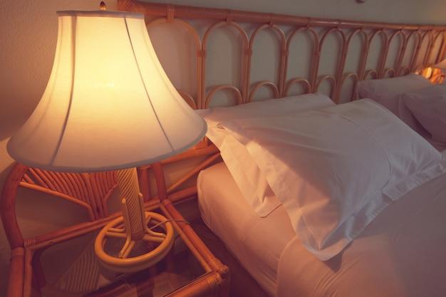 리조트의 침실