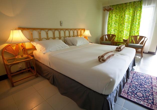 Bedroom on resort