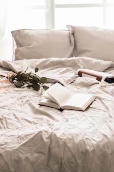 Bedtime. книга на кровати